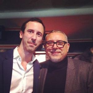 Con Jordi Frades, director de Isabel
