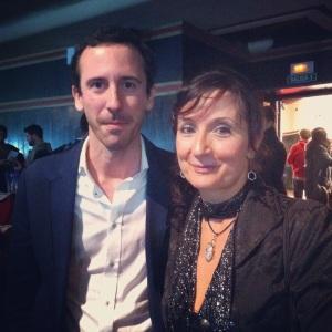 Con Teresa Cunillera. asesora histórica de Isabel