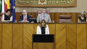 Debate de investidura de Susana Díaz. Fuente: ABC